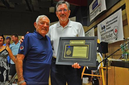 Howie Meeker Hall of Fame induction