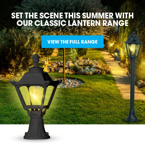 Set the scene this summer with our classic lantern range