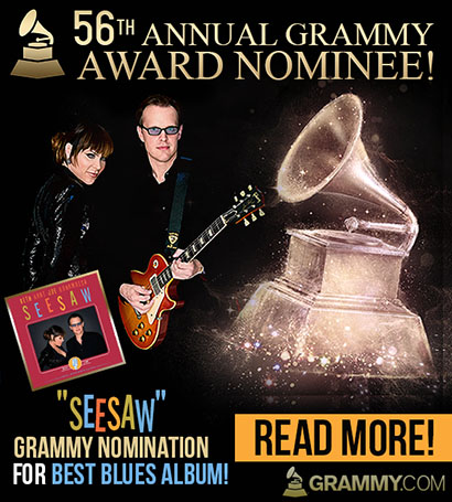 56th Annual Grammy Award Nominee! 'Seesaw' Grammy Nomination for Best Blues Album! Read More!