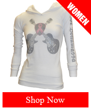 Crystallized Breast Cancer Awareness Thermal Hoodie