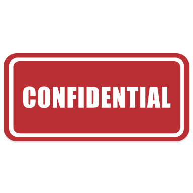We take our participants' confidentiality seriously