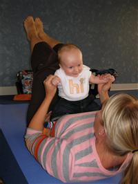 Mom & Baby Yoga with Lori Charko