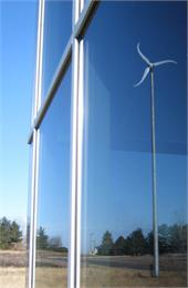 MAREC wind turbine reflection.