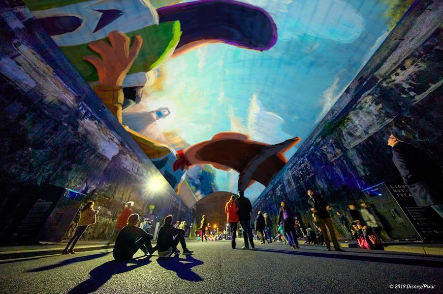 Vivid Light: Pixar Animation Studios - Argyle Cut