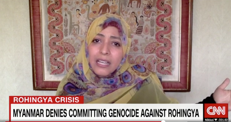 Tawakkol Karman on CNN
