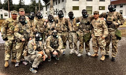 CMC ROTC Competition Team