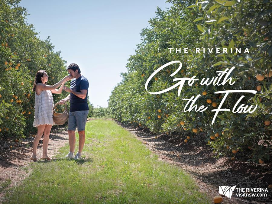 Riverina Go With The Flow Campaign
