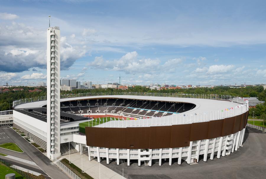 Olympiastadionin peruskorjaus. Kuva: Wellu Hämäläinen Arkkitehtuurin Finlandia 2020