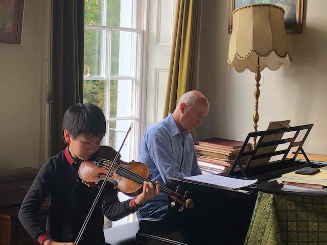 Christian Li & Gordon Back