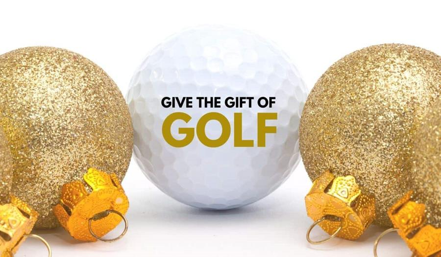 Give the gift of GOLF.