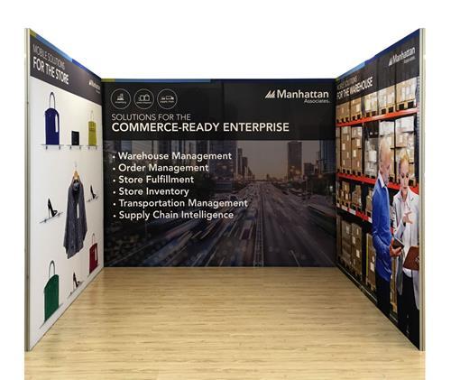 Texframe Fabric Exhibition Displays Shell Scheme