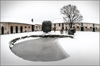 Farm Apremont in the snow on 20 January 2013