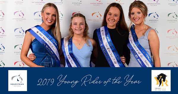 2019 Young Rider of the Year Winners