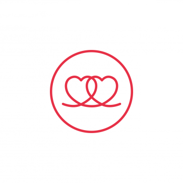 Two Hearts FEI logo