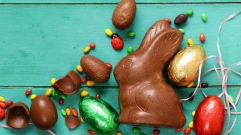 Chocolate eastern bunny