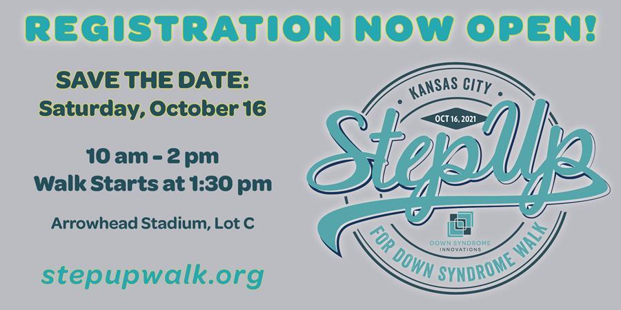 Register for the 2021 KC Step Up Walk