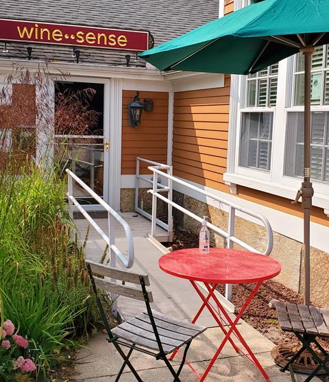 Curbside at wine-sense