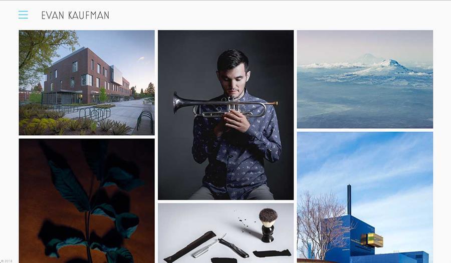 Evan Kaufman Website